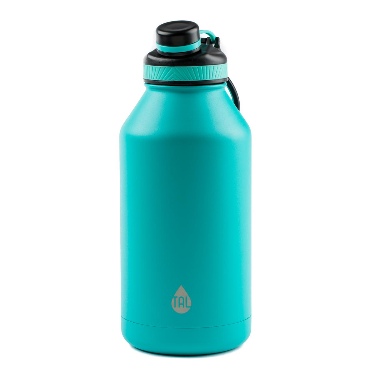 TAL Teal 64oz Double Wall Vacuum Insulated Stainless Steel Water Bottle