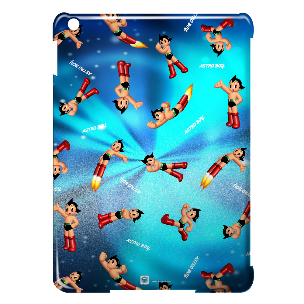 Astro Boy Pattern Ipad Air Case White Ipa