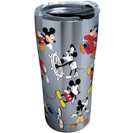 Tervis Disney Mickey Mouse 90th Birthday Tumbler 20 Ounce Stainless (Mickey Mouse Tumbler)