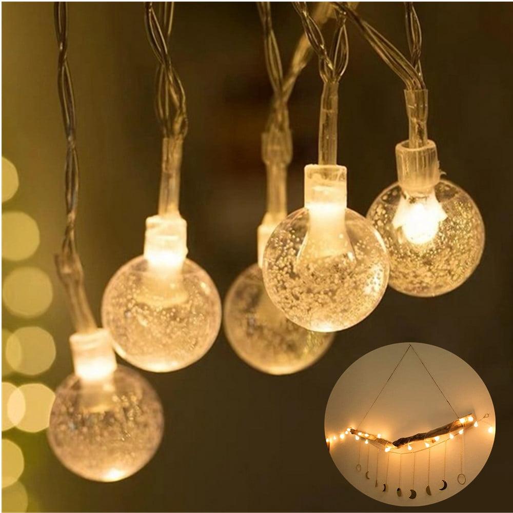 Bedroom String Lights, 30 LED 15ft 2 Modes Waterproof ...