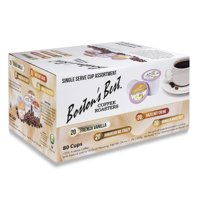 Boston's Best Flavored Assorted Coffee, Single Serve Cups, 80 ct