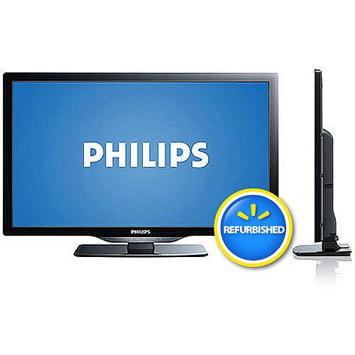 "Philips 22PFL4507/F7 22"" Class LED 720p 60Hz HDTV, (2.11"" ultra-slim) , Refurbished"