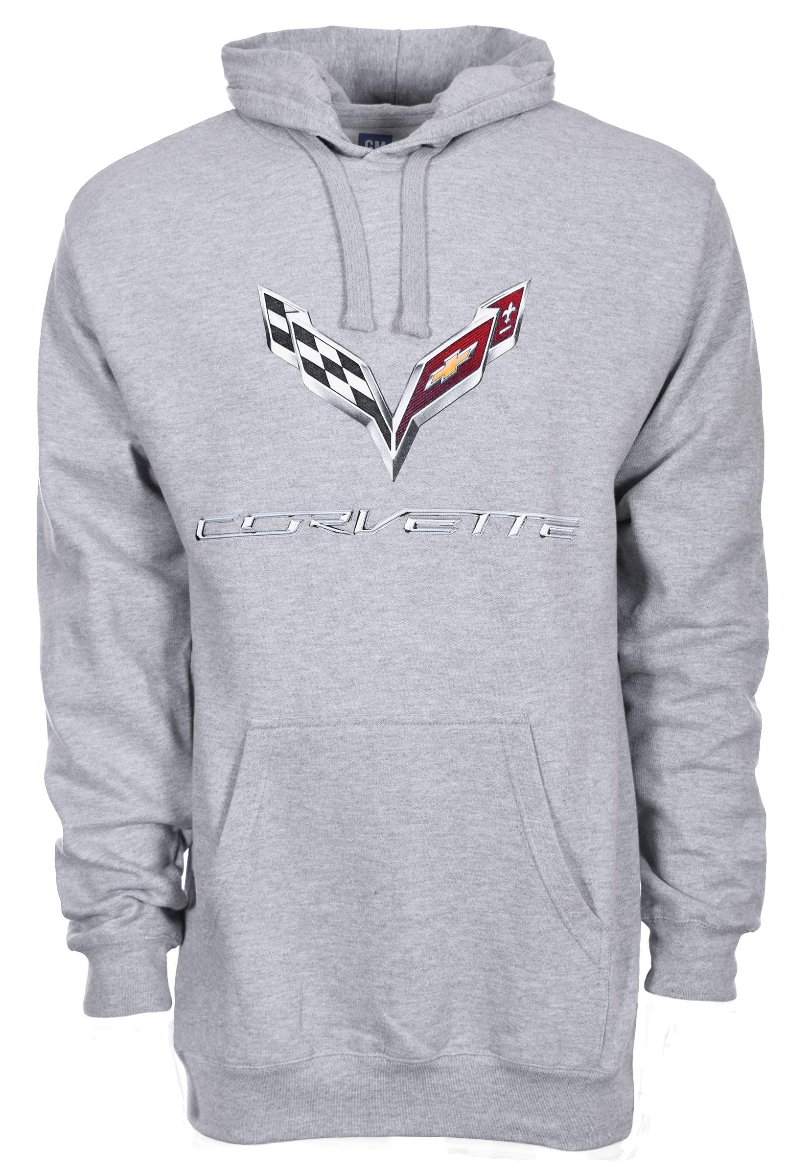 JH DESIGN GROUP Mens Chevy Corvette Hoodies