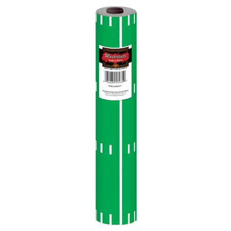 Football Bouquet (100' Green and White Game Day Football Field Disposable Plastic Banquet Party Table Roll)
