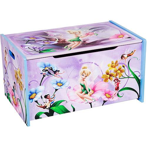 Disney Fairies Wooden Toy Box
