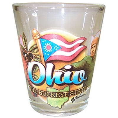 "Ddi Ohio Shot Glass 2.25h X 2"" W Elements (pack Of 96)"