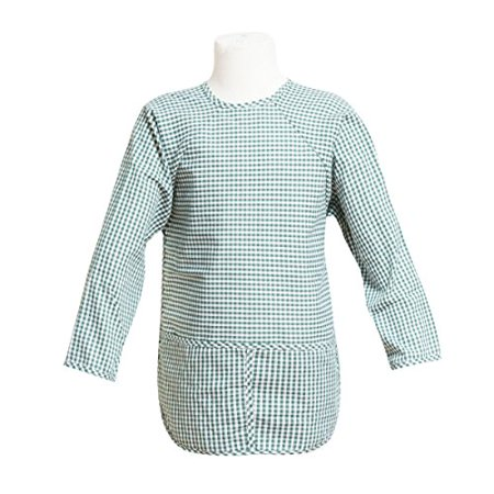 FIT RITE Long-Sleeve Artist Smock for Kid & Toddler (Hunter Green, X Small 1-2 Years) ()