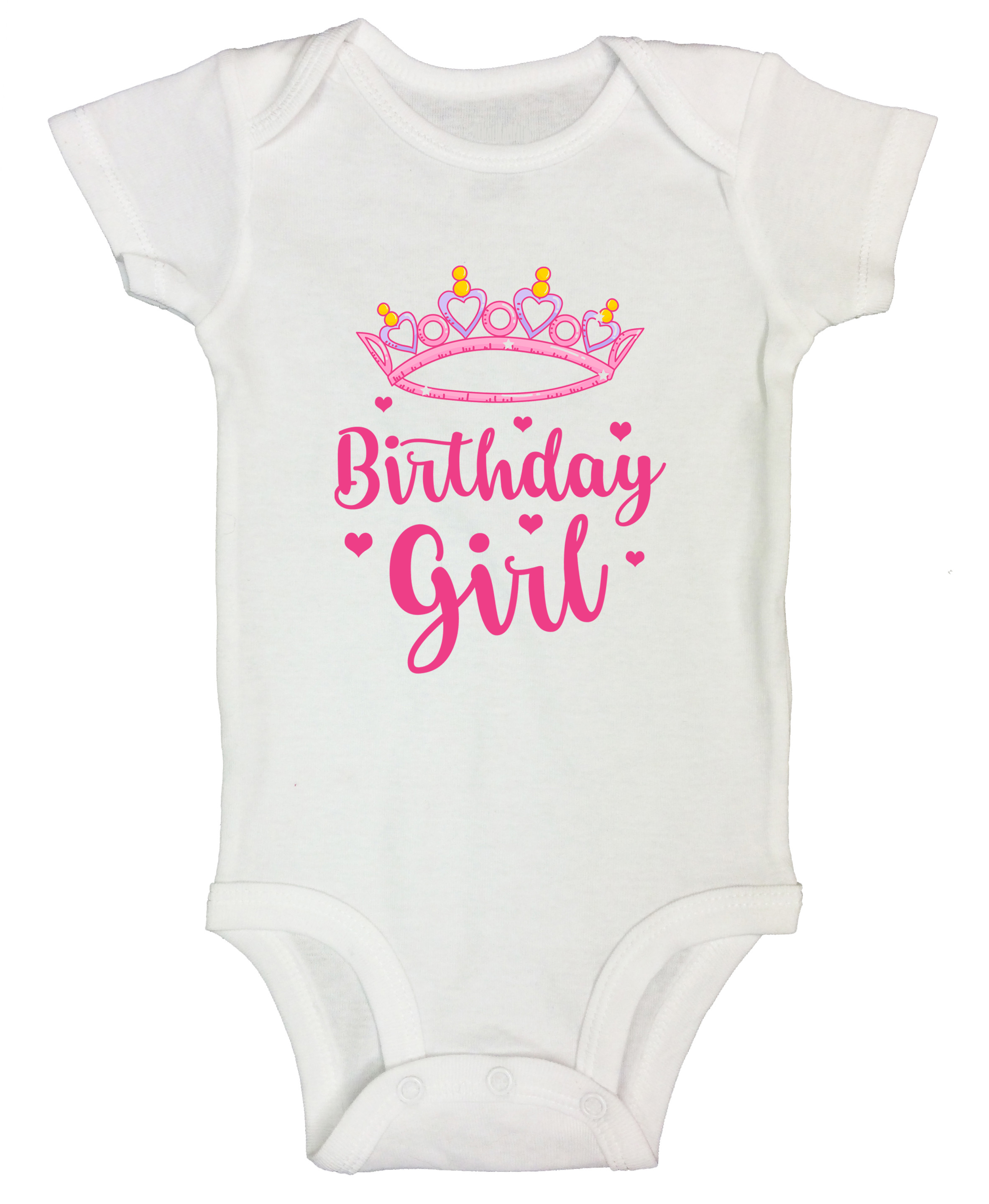 Princess Monthly Birthday Funny Toddler White Shirt With Saying