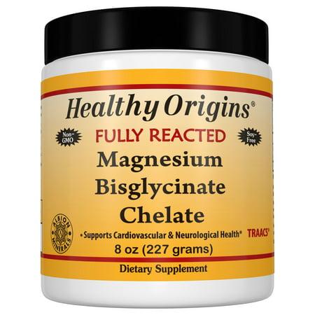 Magnesium Bisglycinate Chelate (Albion Minerals), 8 Oz