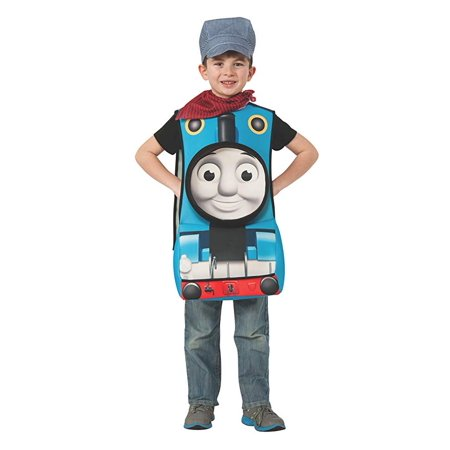 Duo Costume Ideas Friends (Rubies Thomas and Friends Deluxe 3D Thomas The Tank Engine Costume,)