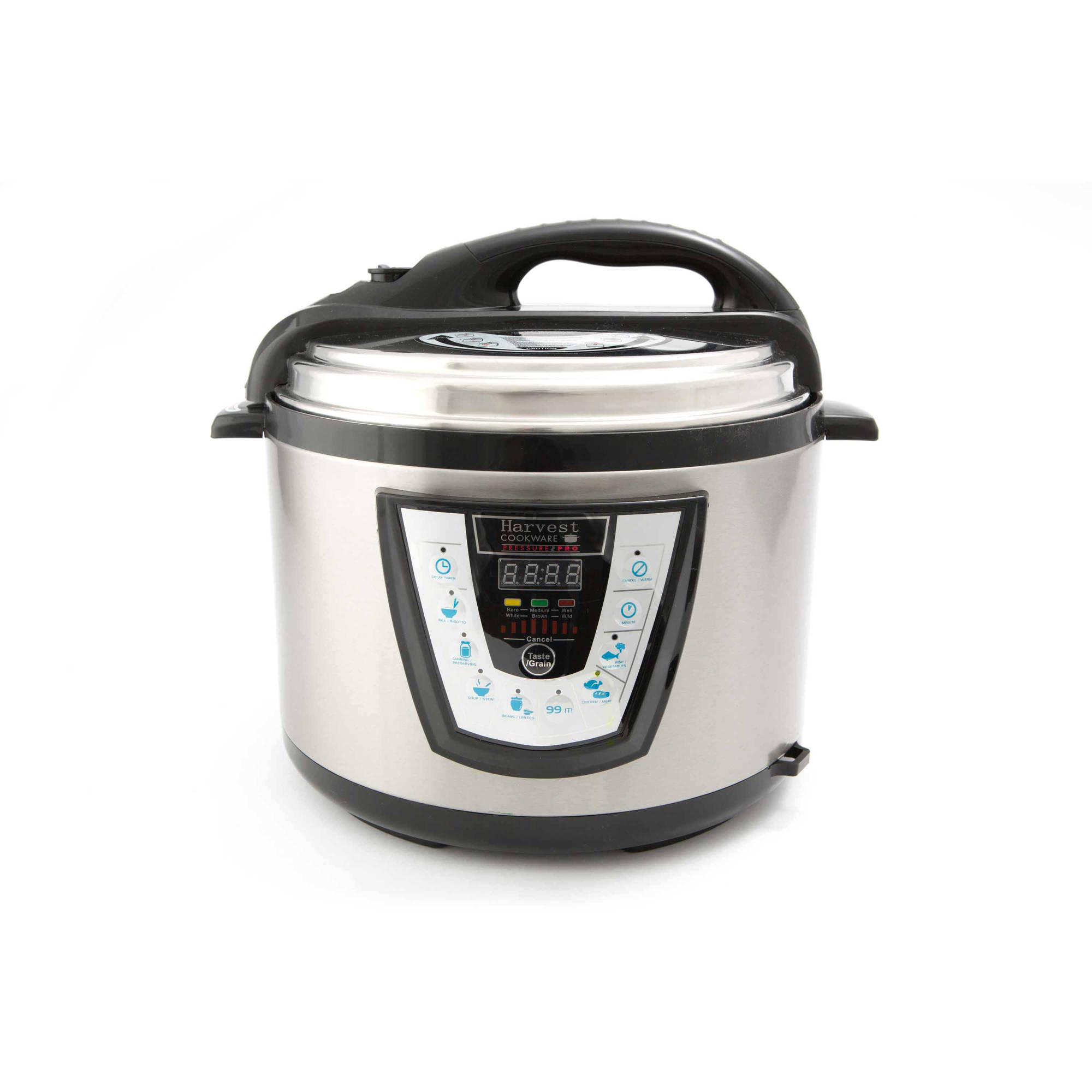 Harvest Cookware Electric Original Pressure Pro 8-Quart Pressure Cooker, Black