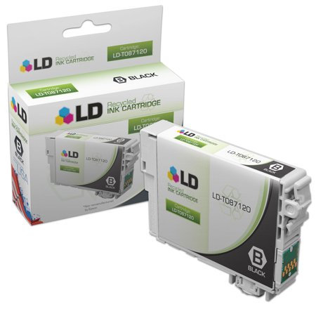 LD Remanufactured Replacement for Epson T087120 (T0871) Photo Black Inkjet Cartridge for use in Epson Stylus Photo R1900