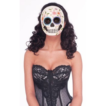 MASK-DAY OF THE DEAD-FEMALE - Female Mask