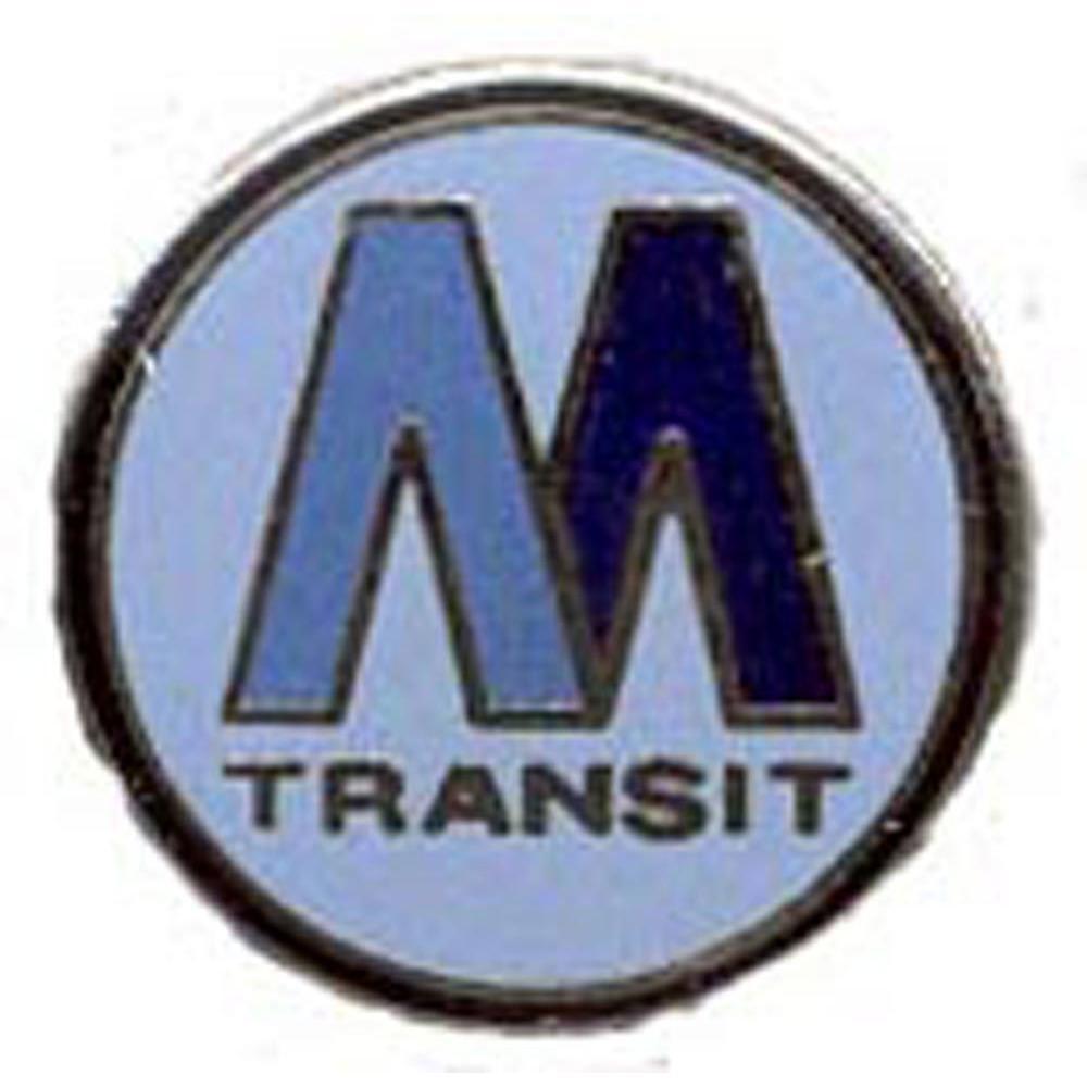 Metro Transit Railroad Pin 1