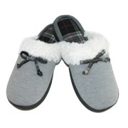 Isotoner  Women's Brushed Sweater Knit Clog Slippers