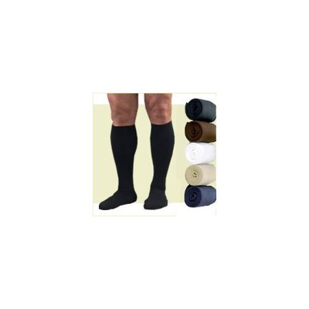 Activa H2573 Therapeutic Mens Ribbed Dress Socks 15-20 mmHg - Size & Color- Brown Large