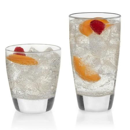 (Libbey Classic 16-piece Drinkware Glass Set)