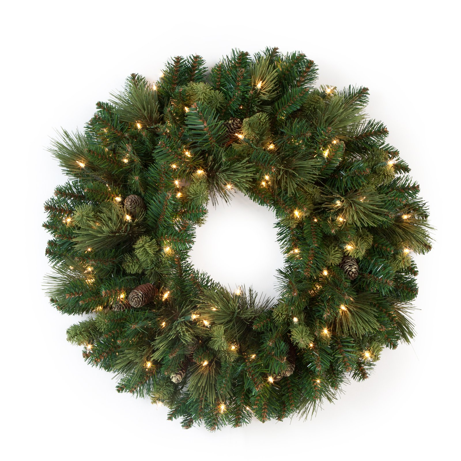 30 in. Carolina Pine Wreath