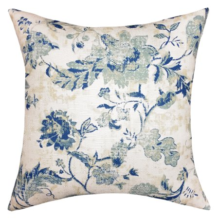 Mainstays Distressed Paisley Decorative Throw Pillow,
