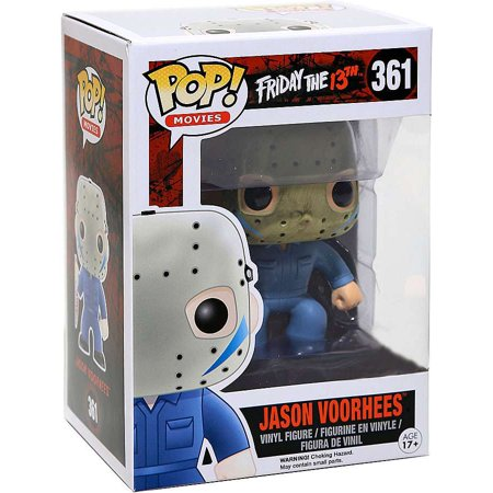 Friday the 13th Funko POP! Movies Jason Voorhees Vinyl Figure [Blue Jumpsuit] - Jason Voorhees 1981