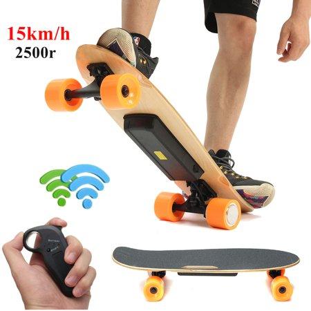 250W Electric Longboard Skateboard Wireless Remote Control