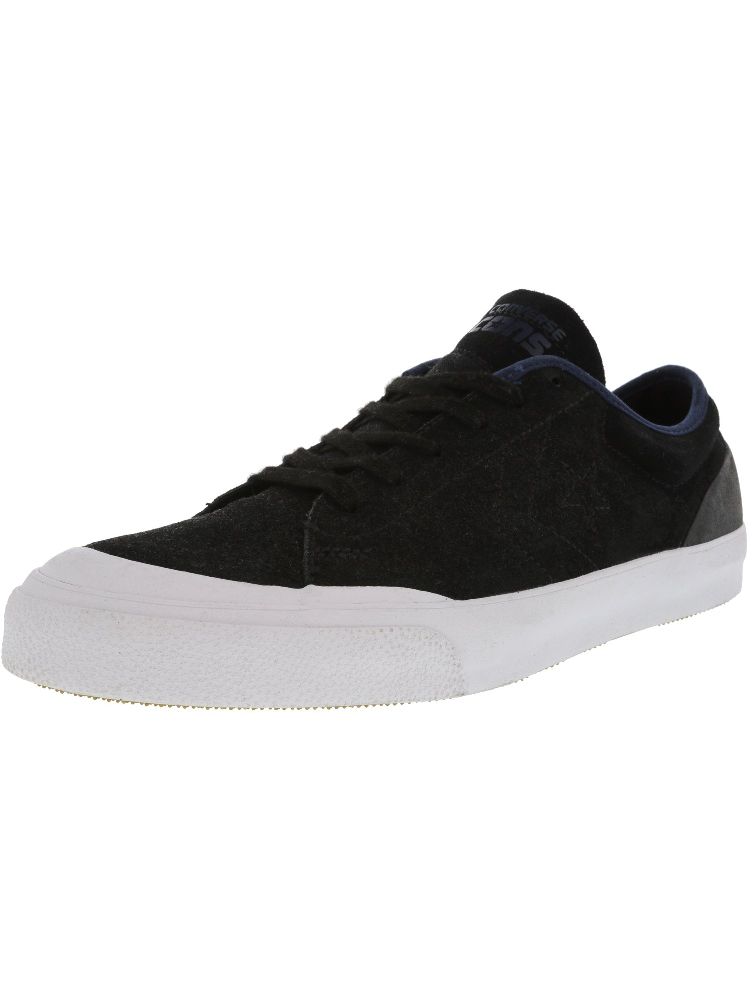 Converse Men s Cons Sumner Ox Black   Navy Ankle-High Leather ... 7ec18bac7