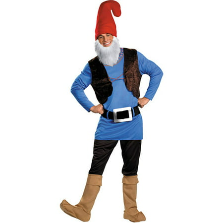 Papa Gnome Adult Halloween Costume - Good Halloween Costume With Beard
