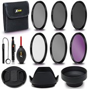 Xtech 67mm PRO Lens Accessories Kit w/ 67mm 3 Piece Filter Kit (UV FLD CPL) + 67mm ND Filters + Lens Hoods for Cameras and Lenses with a 67mm Lens Thread