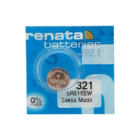 321 / SR616SW Renata Silver Oxide Button Battery - image 1 de 1