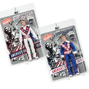 Evel Knievel 8 Inch Action Figures Series 1 Re-Issue: Set of 2 Figures