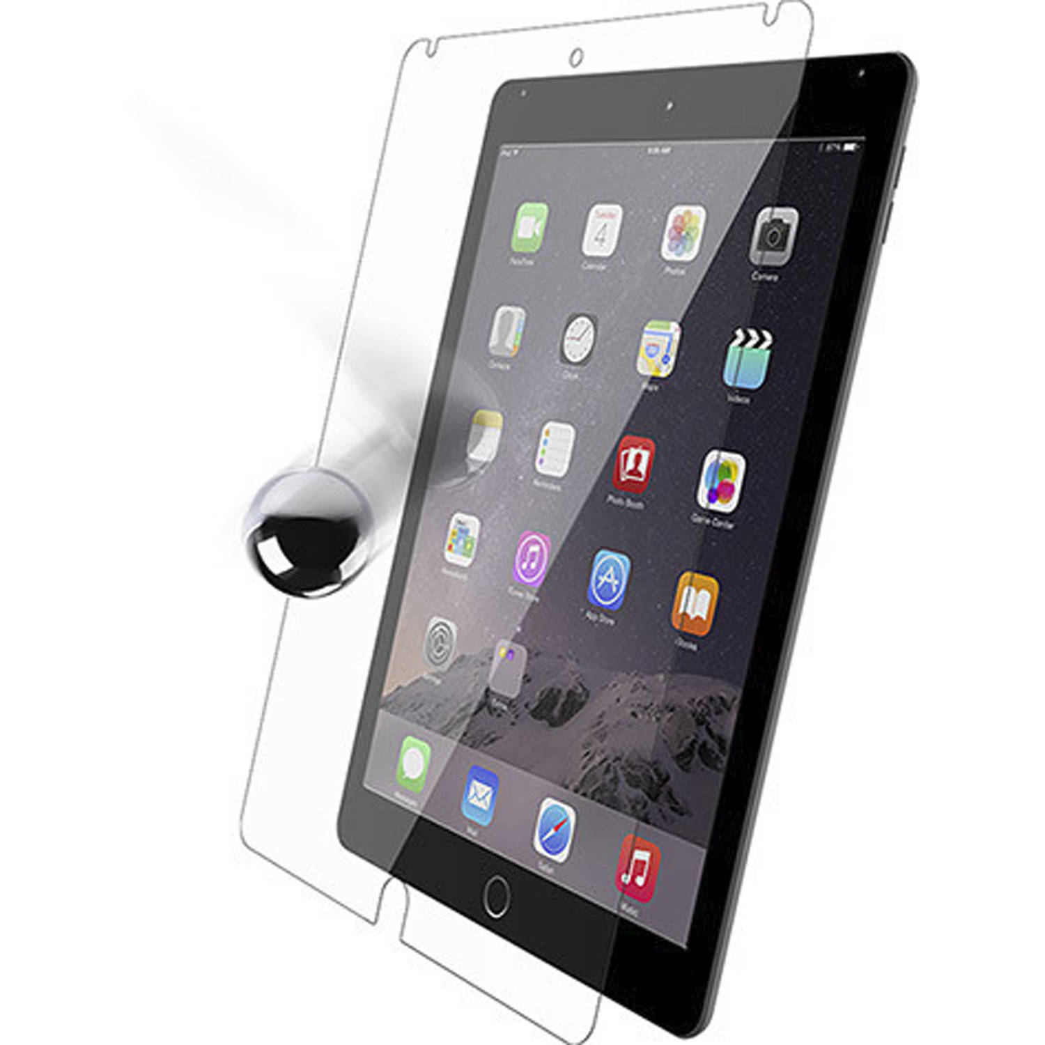 OtterBox Alpha Glass Apple iPad Air 2 Screen Protector