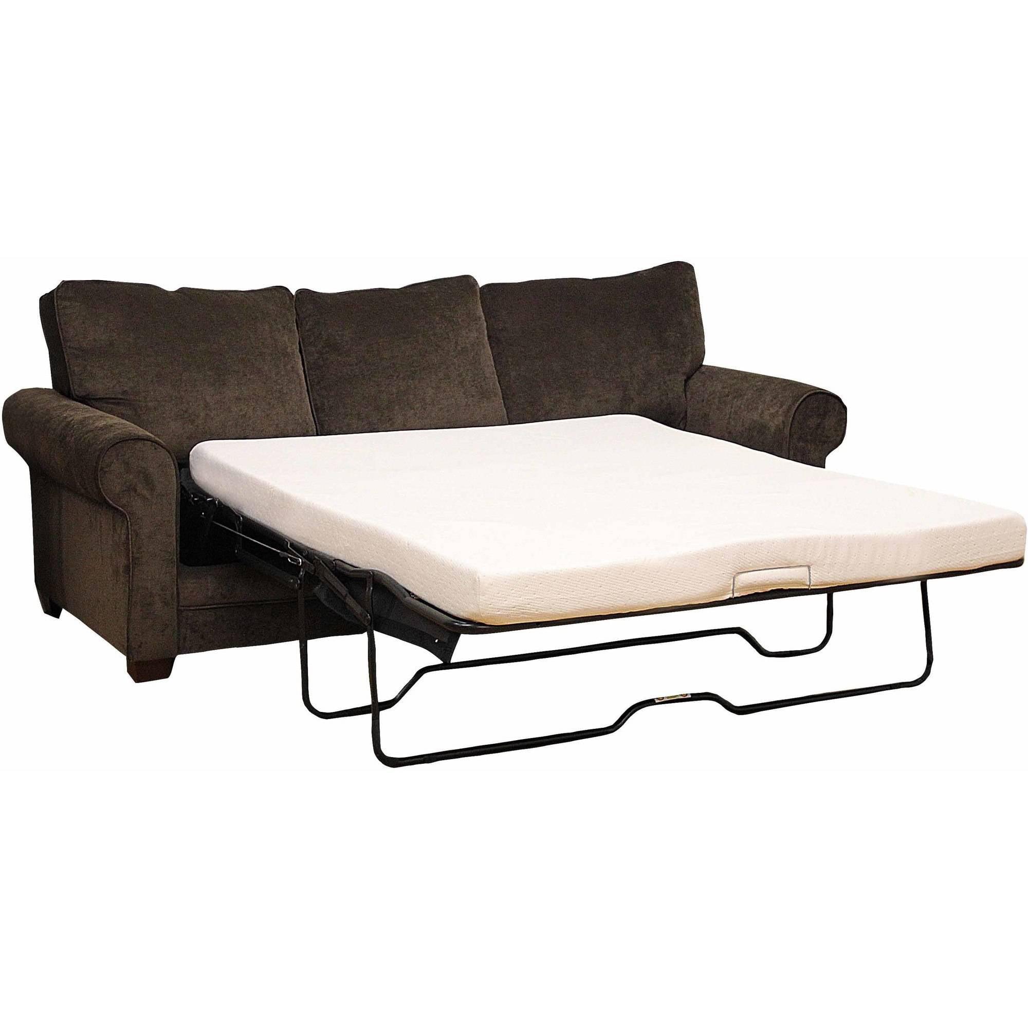 "Modern Sleep Memory Foam 4.5"" Sofa Bed Mattress, Multiple Sizes"