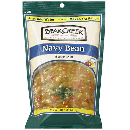 Bear Creek Navy Bean Soup Mix, 10.7 oz (Pack of 6)