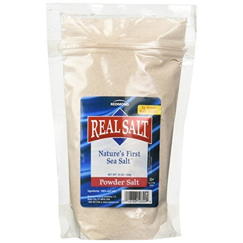 Redmond Trading Company Redmond Realsalt Nature's First Sea Salt Powder Pouch, 1 Pound