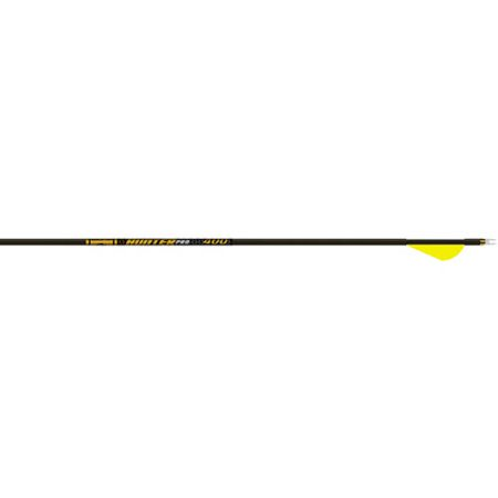 Gold Tip Hunter Pro Arrow with Raptor Vane, Pack of 6, Black, 300