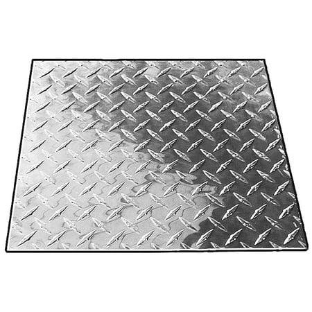 - 3DRY2 Plate Stock, Tread, 3003 Al, 1/16In T, 2x4Ft