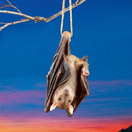 Hanging Bat Decorations Halloween (Halloween Hanging Swinging Bat with Realistic)