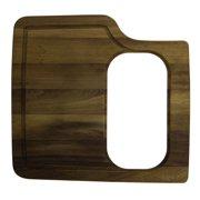 ALFI brand AB50WCB Rectangular Wood Cutting Board with Hole for AB3520DI