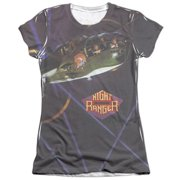 Night Ranger 7 Wishes (Front Back Print) Juniors Sublimation Shirt