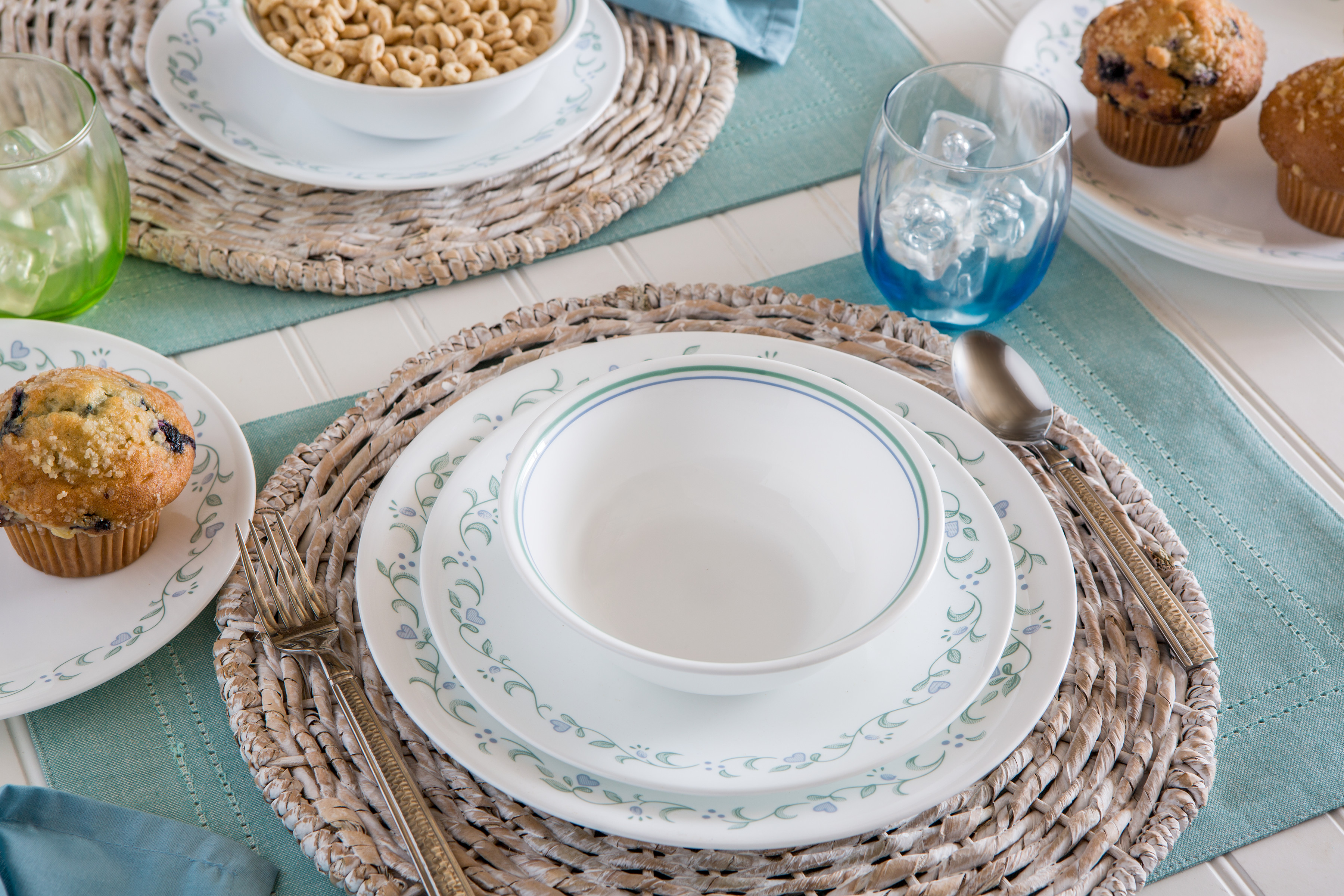 Corelle Livingware Country Cottage 16-Piece Dinnerware Set  sc 1 st  Walmart & Corelle Livingware Country Cottage 16-Piece Dinnerware Set - Walmart.com
