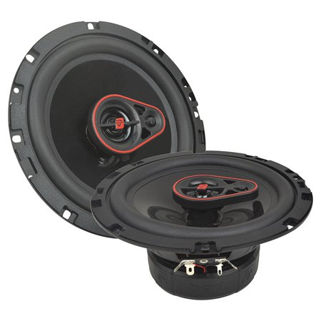 Cerwin-Vega Mobile H7653 HED Series 3-Way Coaxial Speakers (6.5