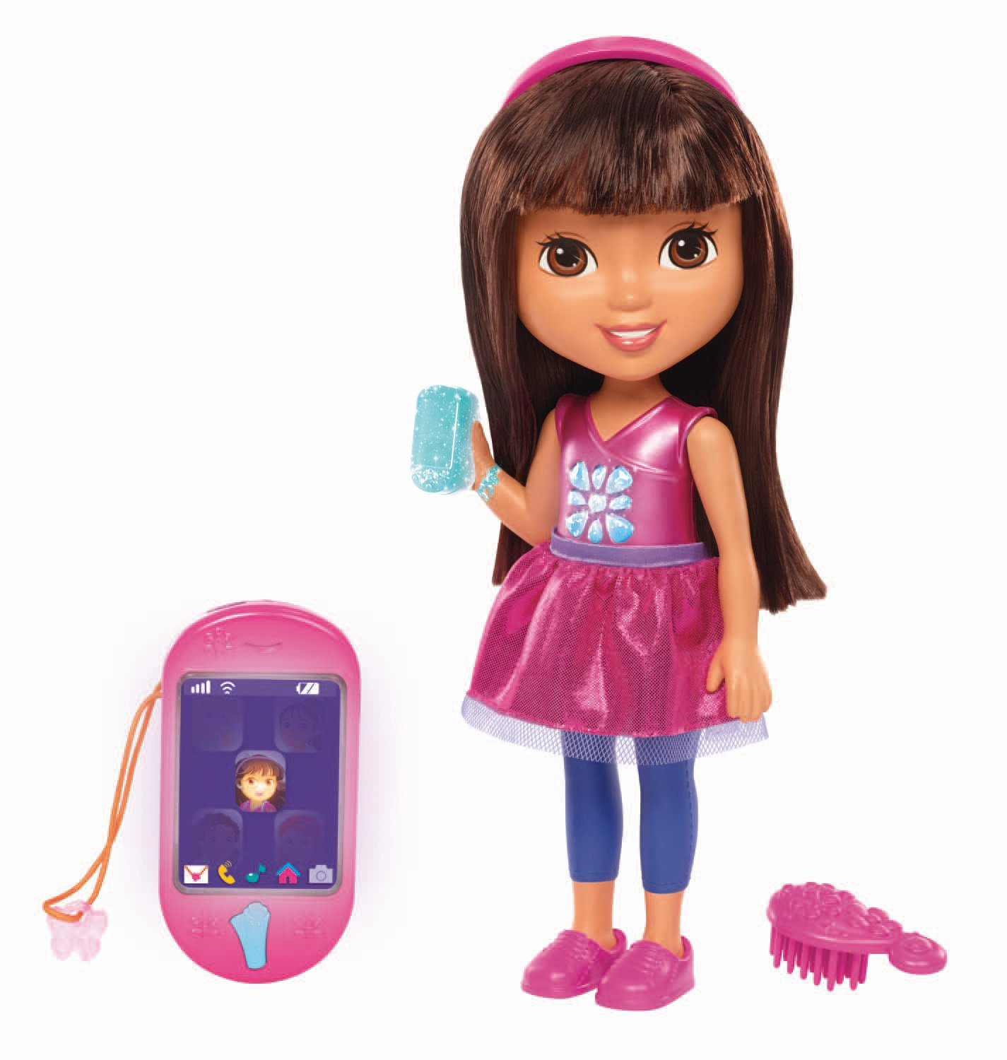 Fisher Price Dora & Friends Talking Dora & Smartphone, Join Dora on her adventures in... by