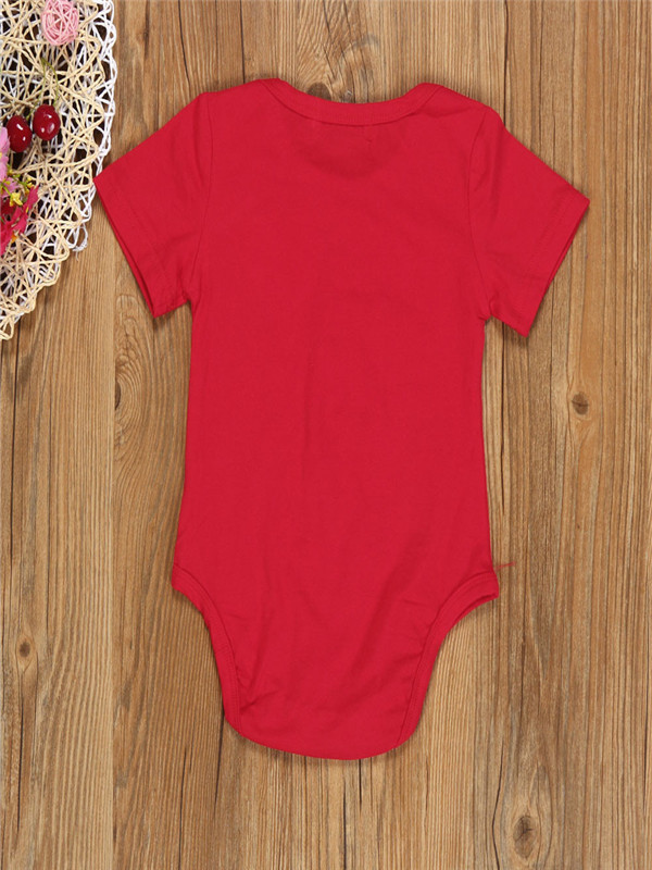 8a5a81cb Infant Baby Boy Girl Clothes Romper Pants Headband 3PCS Valentine's Outfits  Set - Walmart.com