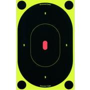 """Birchwood Casey 34750 Shoot-N-C Silhouette 7"""" Self-Adhesive Target 60 Pack Black"""