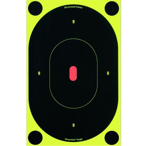 """Shoot•N•C® 7"""" Oval Silhouette Target - 60 targets"""