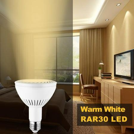 Mifxion Par30 36w Led Spot Light Bulb E27 Medium Base Home Tracking Lighting 45angel White Body