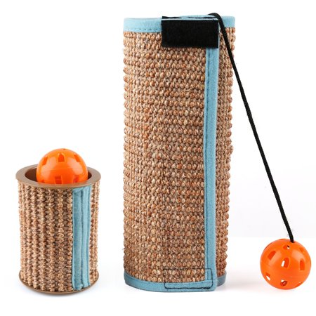 Enjoyable Cat Scratching Post Set Of 2 Cat Sisal Scratcher Mat Cat Interior Design Ideas Tzicisoteloinfo