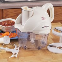 Ben & Howell Multi Food Processor Slicer, Chopper Electric by Bell & Howell