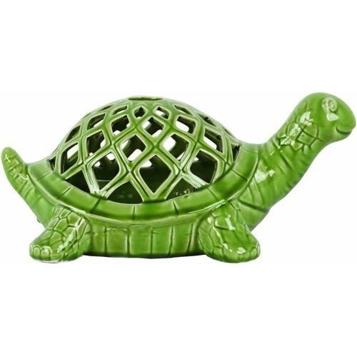 Urban Trends Collection: Ceramic Turtle Figurine, Gloss Finish, White by Urban Trends Collection