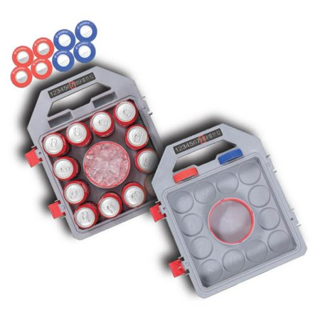 Triumph Insulated Waterproof Washer Toss Game with Built-In Storage Compartment for 12-Pack and Includes Eight Washers (Washer Toss Game)